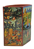 Garden of Earthly Delights Ceramic Museum Flower Vase by Hieronymus Bosch 8H