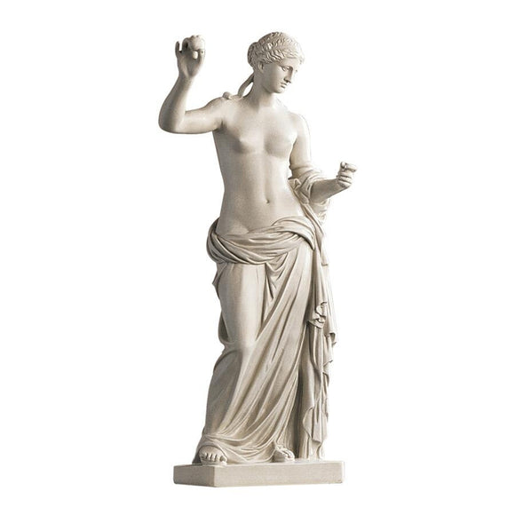 Venus of Arles Greek Roman Woman Holding Apple by Praxiteles 38H