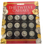 Ancient Roman Coin Replicas of Twelve Caesars Portraits Set