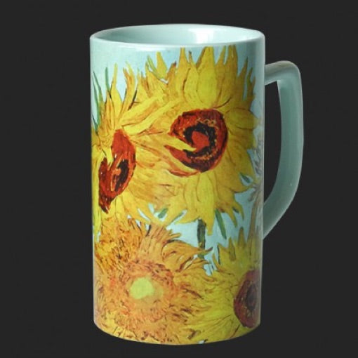 Mug Van Gogh Sunflowers Ceramic 8oz
