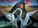 Dali Winged Fantasy Swan Statue For Bacchanale Ballet Surrealism by Salvador Dali 7W
