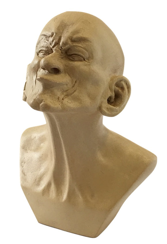 Pocket Art Messerschmidt Beaked Man Character Portrait Statue Miniature 4.1H