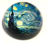 Starry Night Glass Dome Desktop Paperweight by Van Gogh 3W