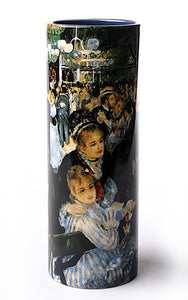 Renoir The Dance Moulin de la Galette Ceramic Vase 7.75H