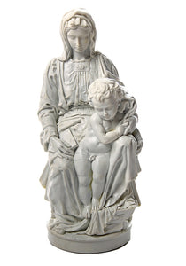 Madonna of Bruges with Baby Jesus Pieta by Michelangelo, Parastone Collection 9H