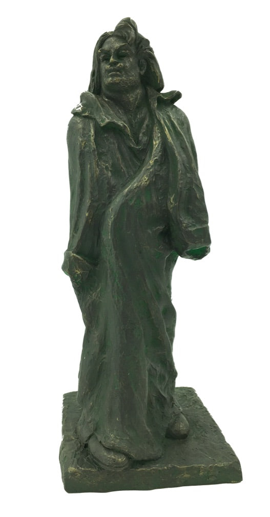 Honore de Balzac Portrait Statue French Writer by Auguste Rodin 8.75H