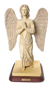 Archangel Gabriel of Mercy Praying Statue Antique Finish Large 13H