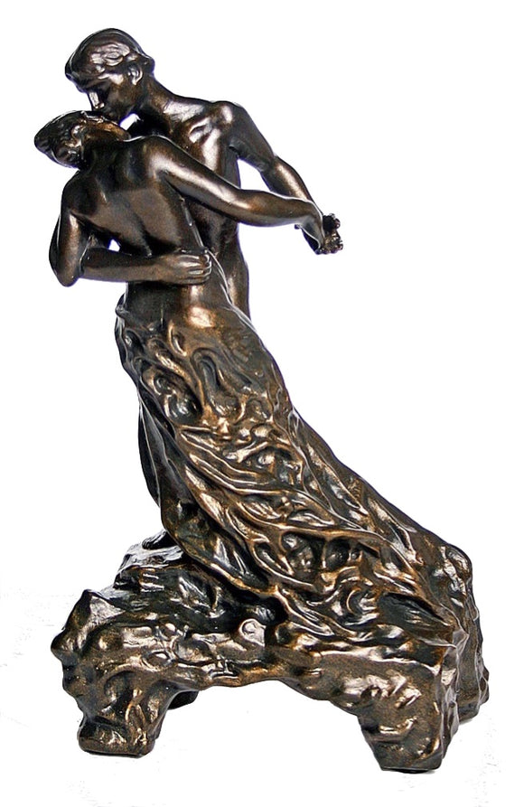 reproduction of camille claudel's the waltz statue