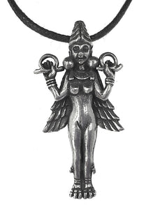 Lilith Mystic Vision Ancient Goddess Mesopotamian Babylonian Unisex Pendant Charm Necklace
