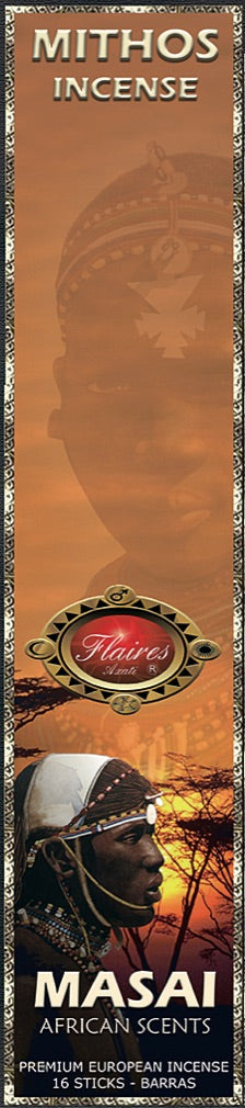 Museumize:Masai Mythos Relaxing African Incense Sticks by Flaires - 3 PACK