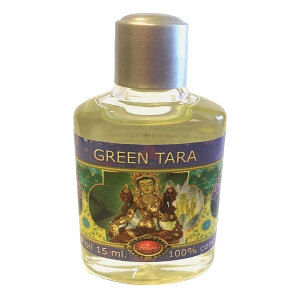 Green Tara Musk Grey Amber Blend Fragrance Essential Oils by Flaires 15ml
