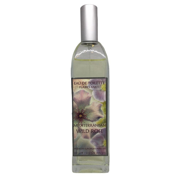 Mediterranean Wild Rose Eau De Toilette Personal Fragrance Spray by Flaires