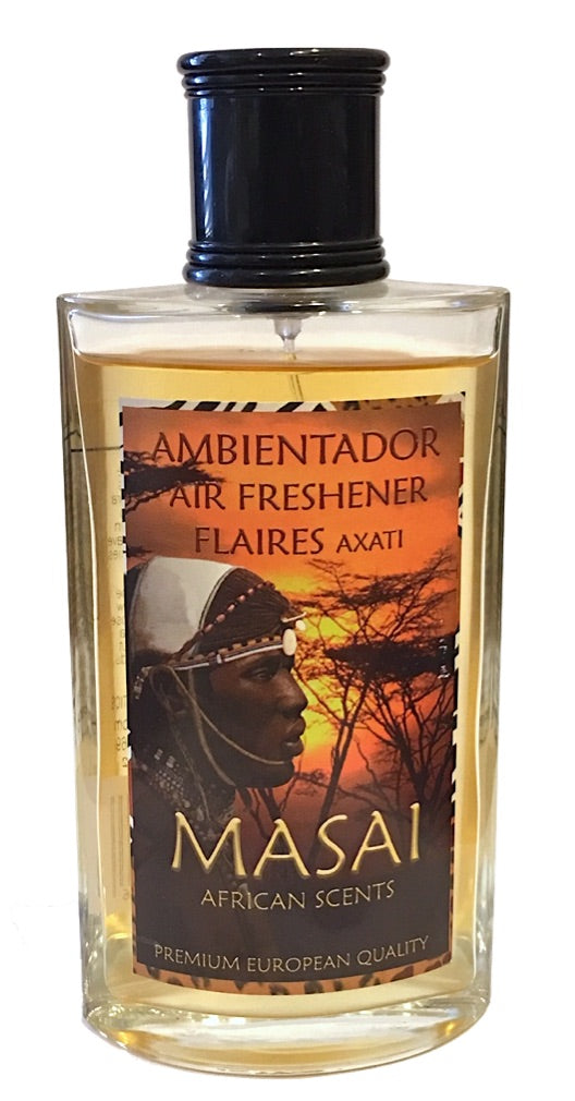 african scent room fragrance spray, Masai by Flaires