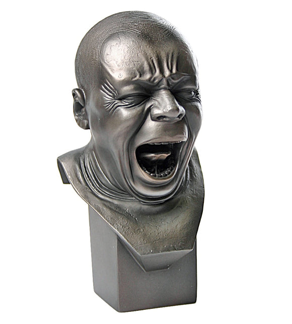 Yawner Man Yawning with Mouth Open Portrait Bust by Messerschmidt, Assorted Sizes