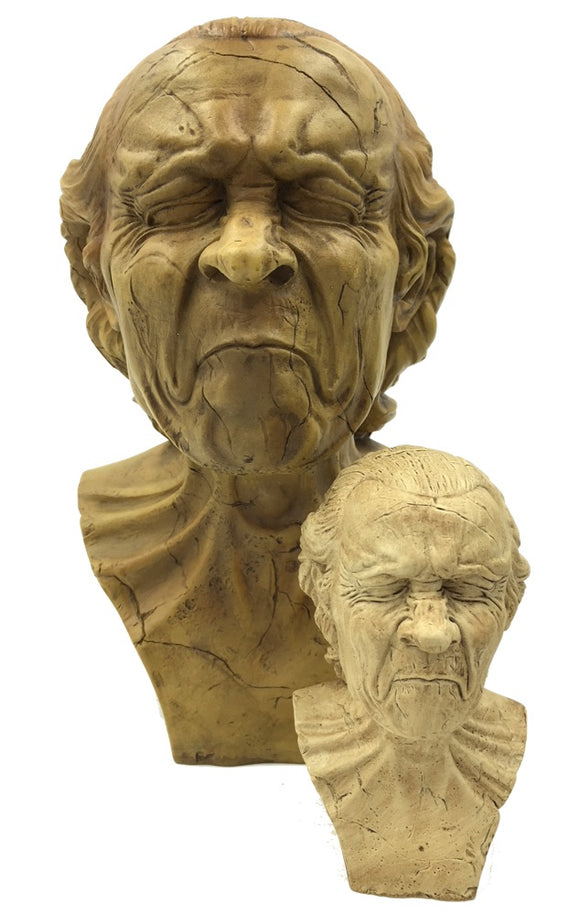 Vexed Man with Sour Expression Caricature Study Statue by Messerschmidt, Assorted Sizes