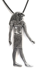 Museumize:Horus Egyptian Costume Pewter Pendant Charm Necklace