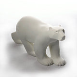 Polar Bear Walking in Stride L'Ours Blanc Statue by Francois Pompon, Assorted Sizes - Museumize  - 1