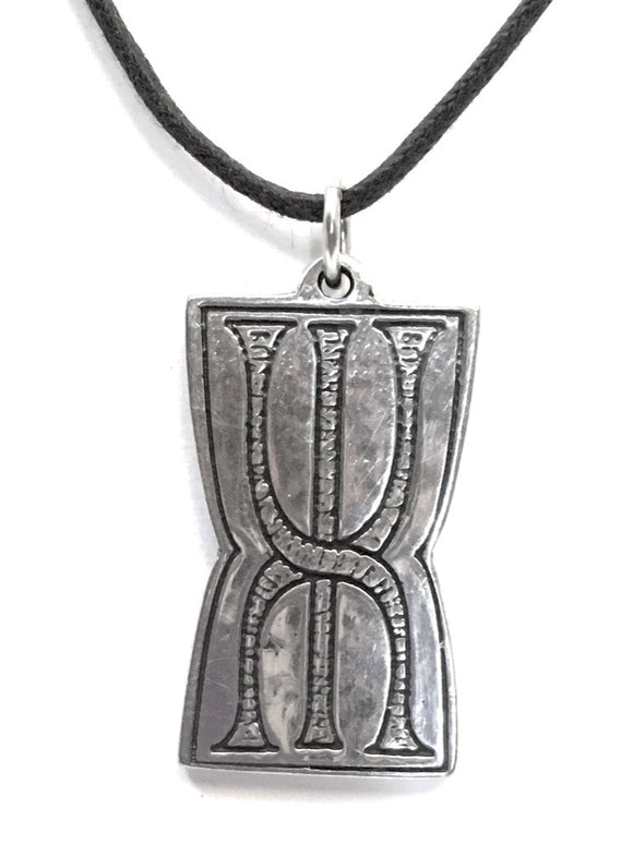 Museumize:Prosperity Rune Stone Talisman Amulet Finding Wealth Unisex Necklace