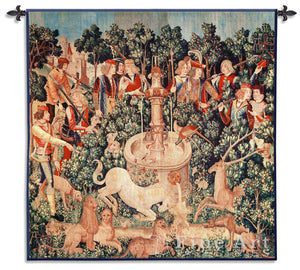 Museumize:Medieval Hunt of the Unicorn is Found Wall Tapestry, Assorted Sizes
