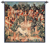 Medieval Hunt of the Unicorn is Found Wall Tapestry, Assorted Sizes - Museumize
