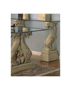 Museumize:Dragon Fierce Console Table Base Pair 33H