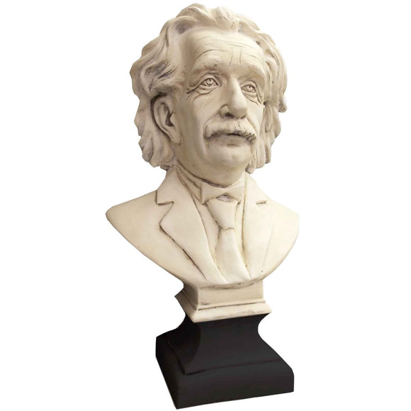 Albert Einstein Great Thinkers Mathematician Portrait Bust 27H