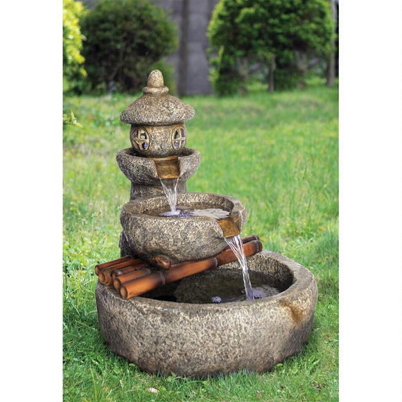 Tranquil Springs Pagoda Fountain
