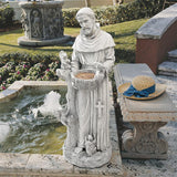 St Francis Large Garden Statue Nature Nurturer with Animals 37H