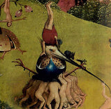 Group of Men Lifting Bird with Blue Egg by Hieronymus Bosch 6H