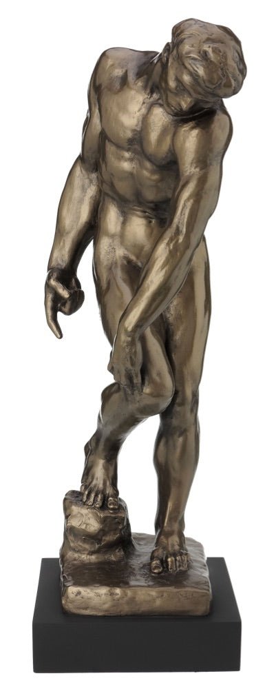 Biblical Adam from Gates of Hell Statue by Rodin 18H