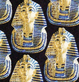 Museumize:Egyptian Pharaoh King Tutankhamun Mask Men Silk Neck Tie
