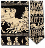 Museumize:Greek Panathenaic Gods and Goddesses Procession Silk Neck Tie