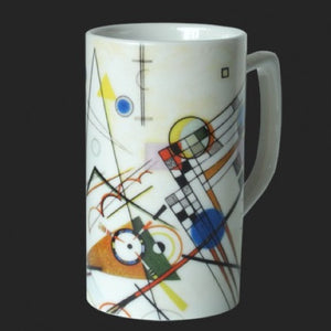 Mug Kandinsky Abstract Composition VIII Ceramic 8oz