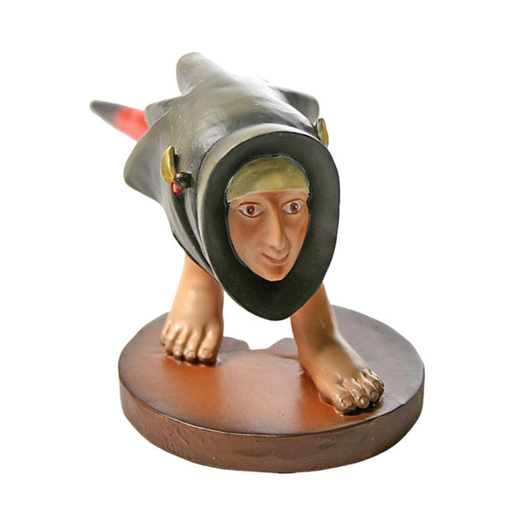 Headfooter Creature Statue by Hieronymus Bosch 2.5H
