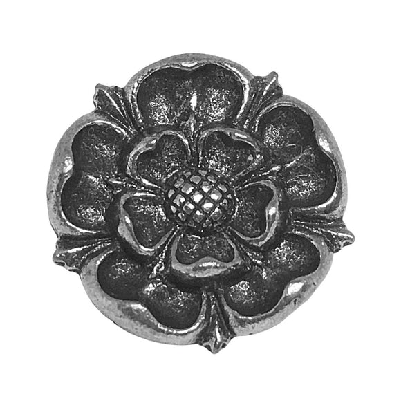 Tudor Rose English Royalty Monarchy Renaissance Pin Pinback Badge Tie Tack