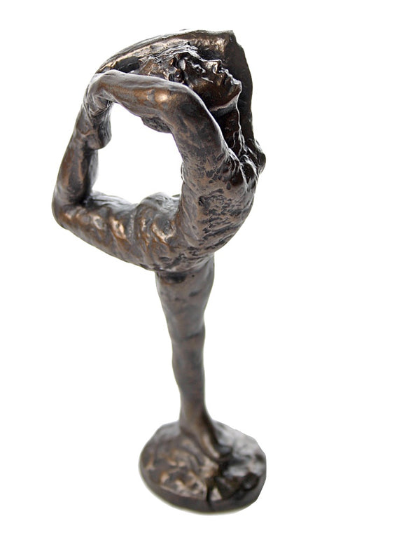 Dancer Movement A Woman Holding Leg to Form Circle Statue by Rodin 9H