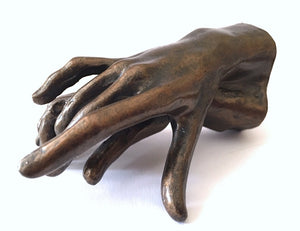 Museumize:Two Holding Hands Small Statue Rodin 3.75L