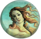 Birth of Venus Glass Glass Desktop Paperweight by Botticelli 3H