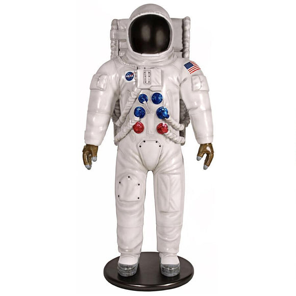 Man On The Moon Astronaut Statue Lifesize 74H