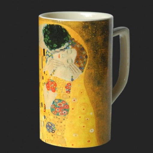 Mug Klimt The Kiss Ceramic 8oz