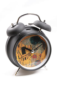 Klimt The Kiss Museum Bell Alarm Clock 6.5H