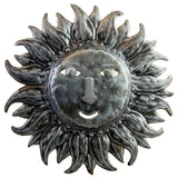 Snooky Soleil Sun Recycled Metal Folk Art Wall Hanging 20.5H