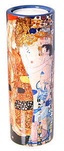 Klimt Mother and Child Three Ages Motherhood Gift Tealight Candleholder 5.75H
