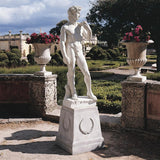 David Michelangelo Master of Determination Florentine Hero Symbol Garden Statue Large 58H