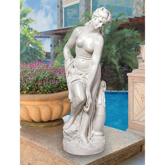 Bather Venus Classical Goddess La Baigneuse By Allegrain Garden Statue 44H