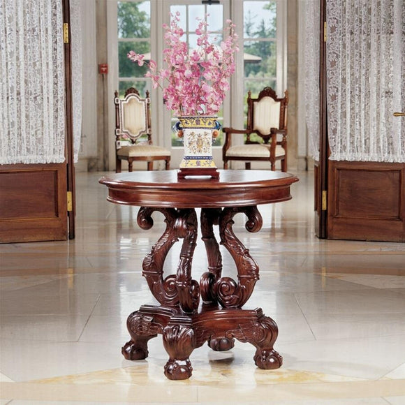 Grande Tabella Del Corridoio Entry or Dining Table Base Carved Griffin Legs 30W