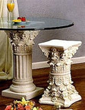 Fluted Corinthian Dining Table Base 28.75H