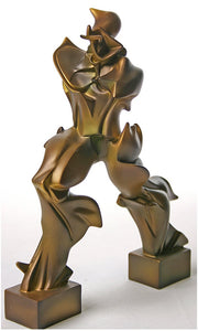 Futuristic Man Statue by Umberto Boccioni, Unique Forms of Continuity in Space 8H