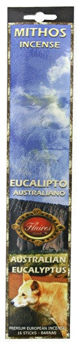Museumize:Australian Eucalyptus Mythos Success Prosperity Incense Sticks - 3 PACK