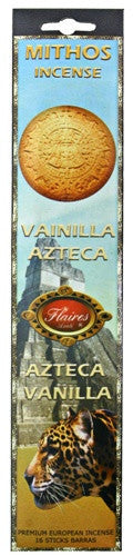 Museumize:Aztec Vanilla Mythos Stimulating Incense Sticks - 3 PACK